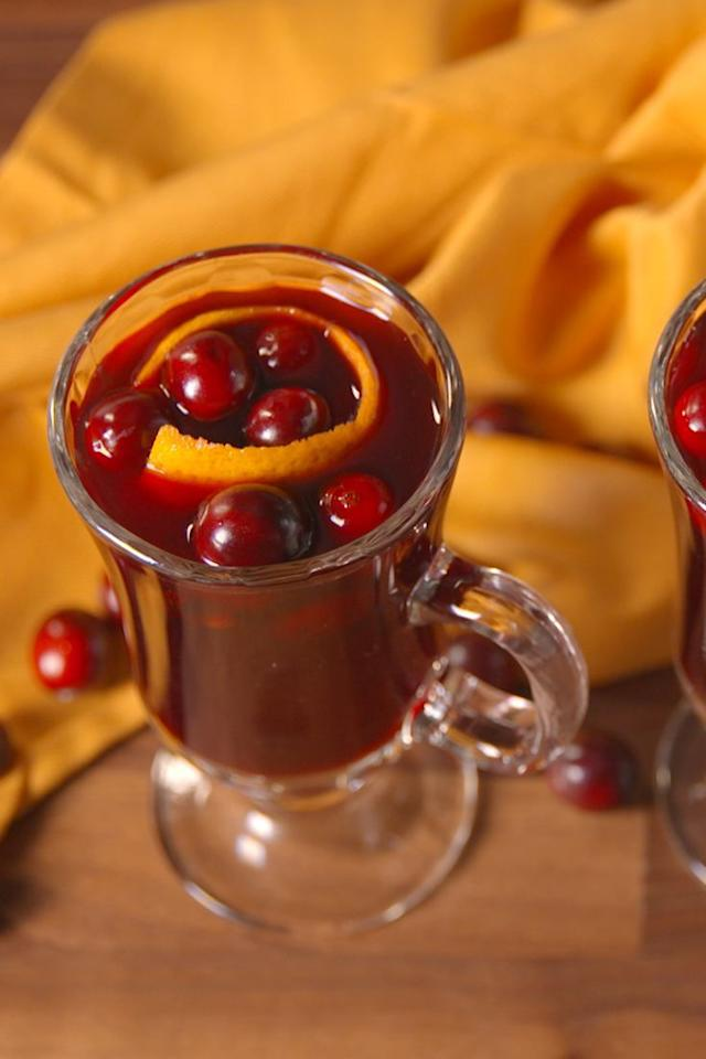 "<p><a rel=""nofollow"" href=""https://www.womansday.com/food-recipes/cooking-tips/g3291/slow-cooker-secrets/"">Slow-cookers</a> aren't just for food. Throw in some red wine, cider, and cranberry juice to create this warm mulled wine.</p><p><strong>Get the recipe at <a rel=""nofollow"" href=""https://www.delish.com/cooking/recipe-ideas/recipes/a50140/slow-cooker-mulled-wine-recipe/"">Delish.</a></strong></p>"