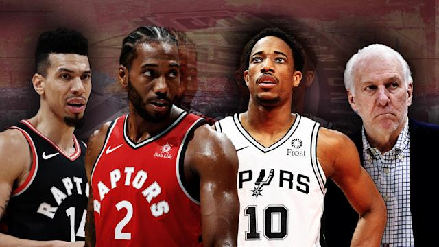 All eyes will be on the Raptors-Spurs game Thursday night.