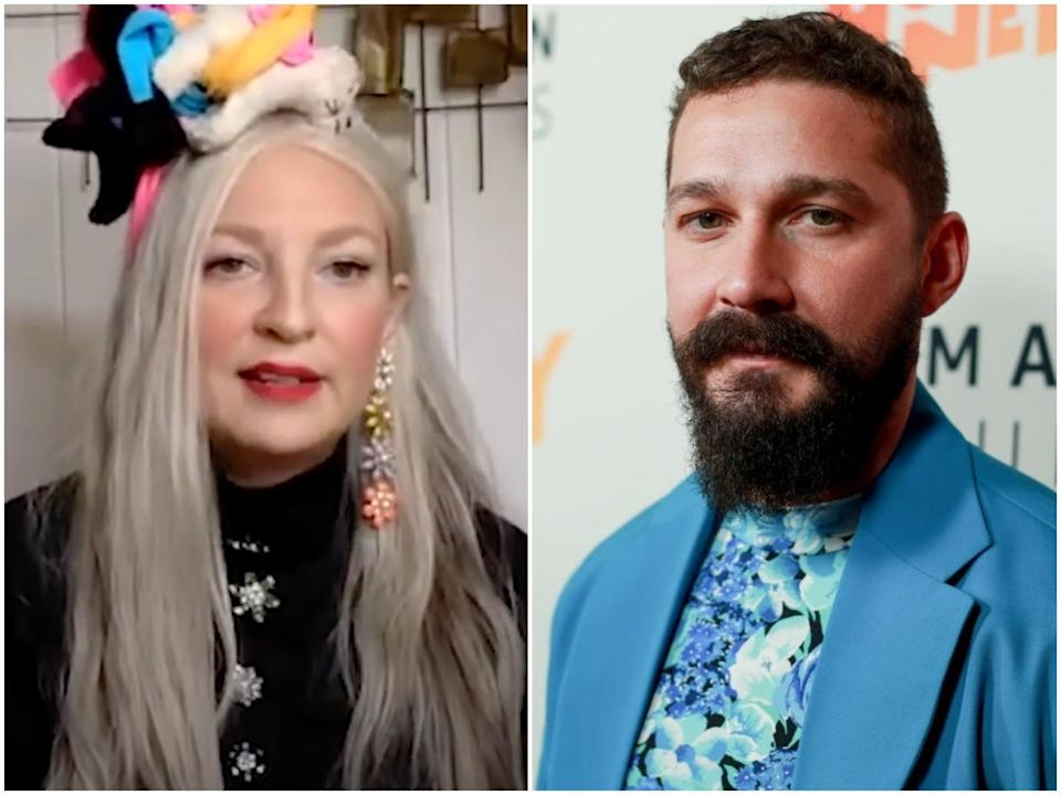 Singer-songwriter and filmmaker Sia, and actor Shia LaBeouf (Variety/Rich Fury/Getty Images)