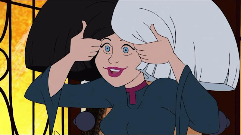 Sia in 'Scooby-Doo and Guess Who?'. (Credit: Cartoon Network)