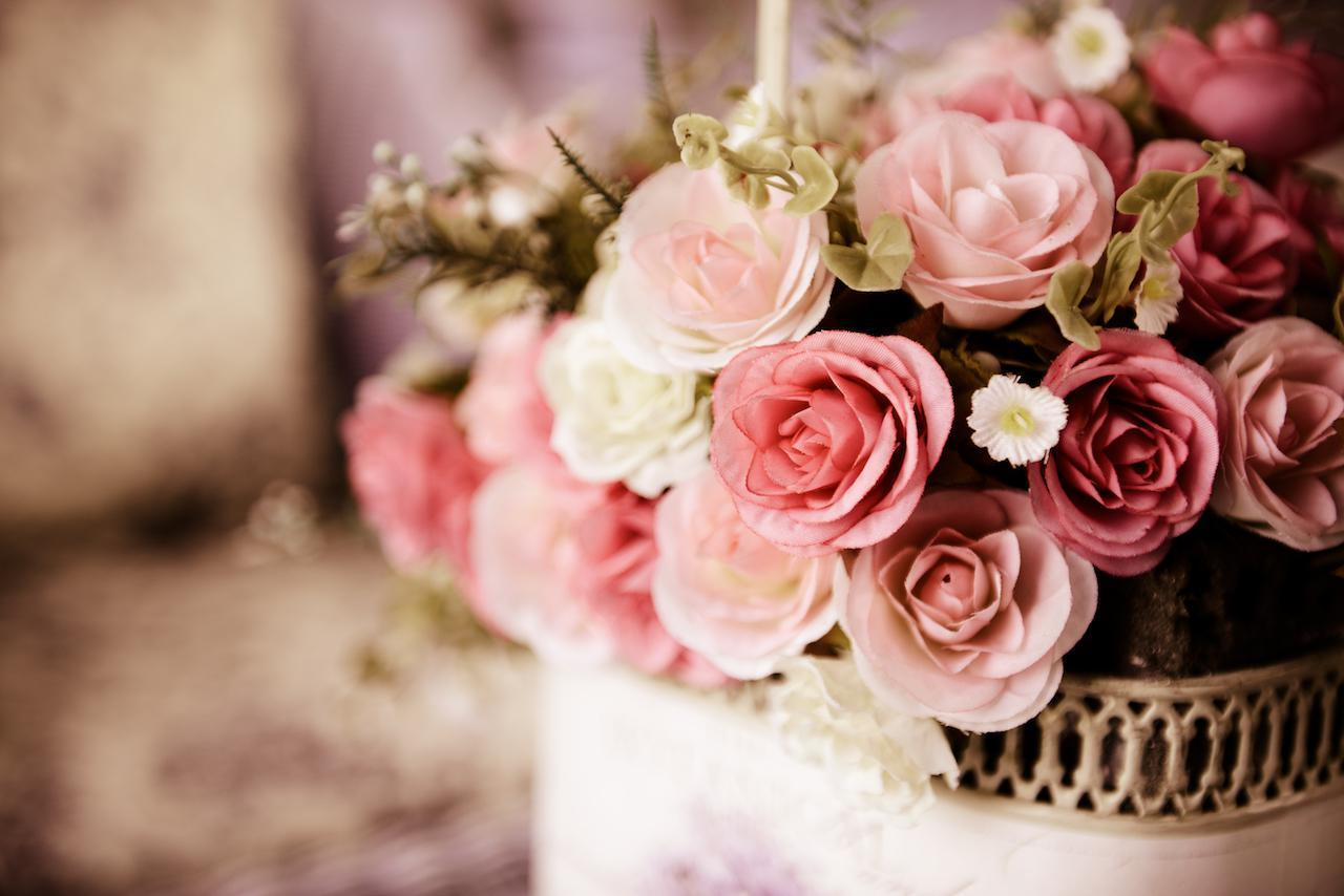 "<p>Flowers can get super expensive, but many people find them to be an important aspect due to the tradition and <a href=""https://www.theactivetimes.com/featured/flower-symbolism-wedding-bouquet/?referrer=yahoo&category=beauty_food&include_utm=1&utm_medium=referral&utm_source=yahoo&utm_campaign=feed"">symbolism of flowers at a wedding</a>. There are companies that offer flower rentals, and while the flowers are artificial, they're lovely all the same.</p>"