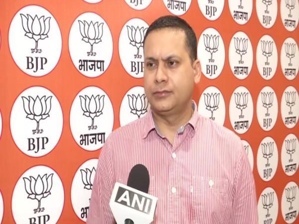 National in-charge of BJP's IT cell, Amit Malviya. [Photo/ANI]