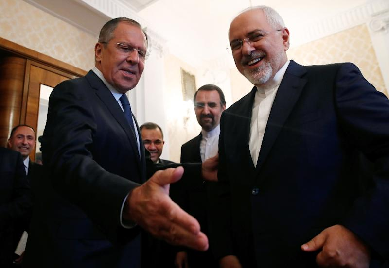 Iranian foreign minister Mohammad Javad Zarif is headed to Brussels after meeting in Moscow with his Russian counterpart Sergei Lavrov
