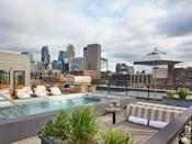 """The rooftop pool at this <a href=""""https://www.cntraveler.com/hotels/minneapolis/hewing-hotel?mbid=synd_yahoo_rss"""" rel=""""nofollow noopener"""" target=""""_blank"""" data-ylk=""""slk:four-time Reader's Choice Awards winner"""" class=""""link rapid-noclick-resp"""">four-time Reader's Choice Awards winner</a> is a classic example of Midwestern ingenuity—during the winter months, it converts to a hut tub so guests can enjoy that Minneapolis fresh air (no matter how cold) all year round."""
