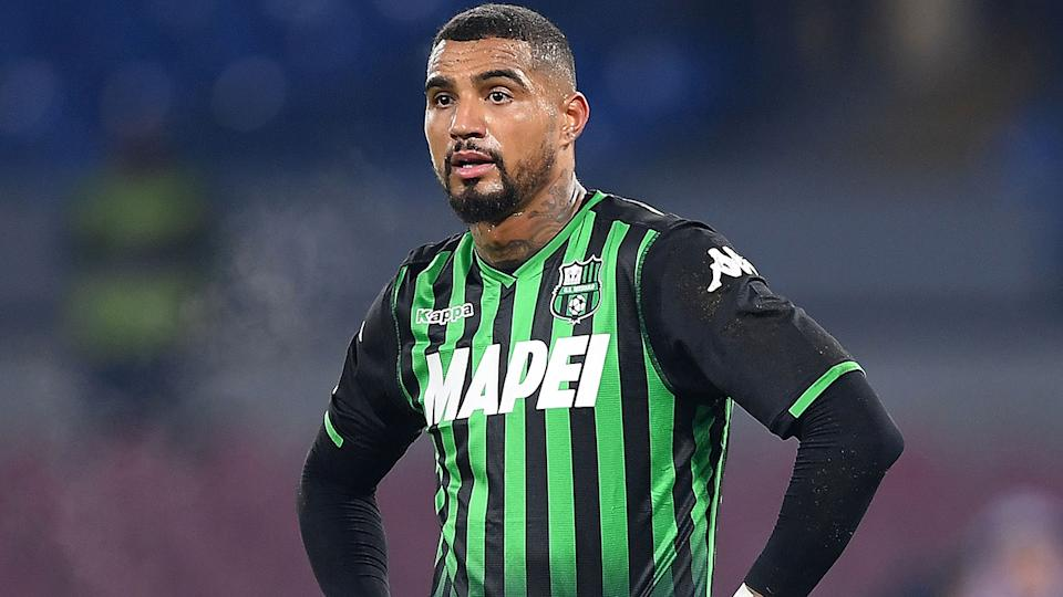 Kevin Prince-Boateng, pictured here in action US Sassuolo in 2019.