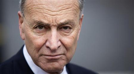 Schumer holds a news conference in New York