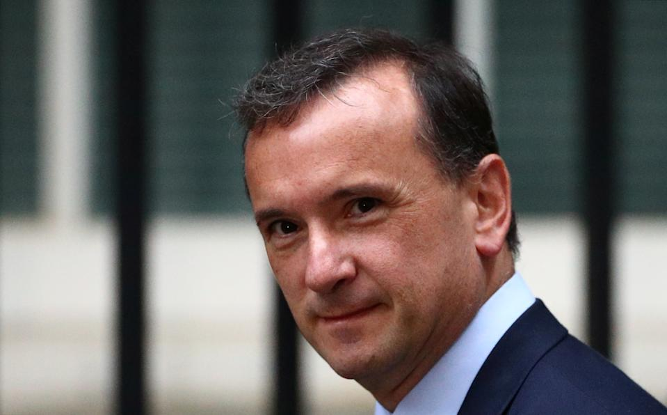 Britain's Secretary of State for Wales Alun Cairns is seen outside Downing Street in London, Britain, September 4, 2019. REUTERS/Hannah McKay