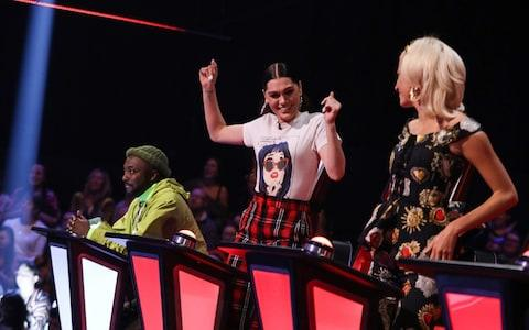 Coaches will.i.am, Jessie J and Pixie Lott - Credit: ITV