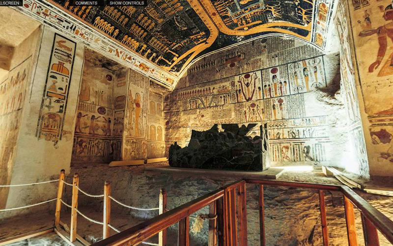 <p>More than 3,000 years after its creation, the tomb, located in East Valley of the Kings in Thebes, Egypt, retains its extraordinary beauty.</p>
