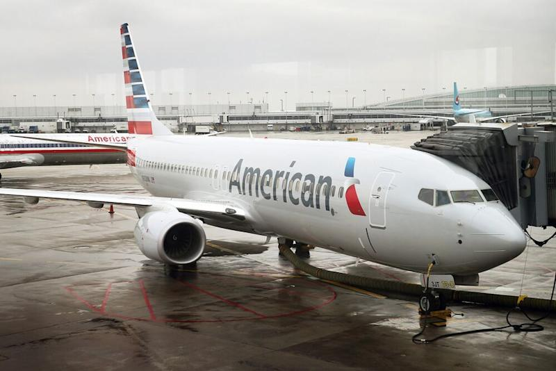 An American Airlines plane | Scott Olson/Getty