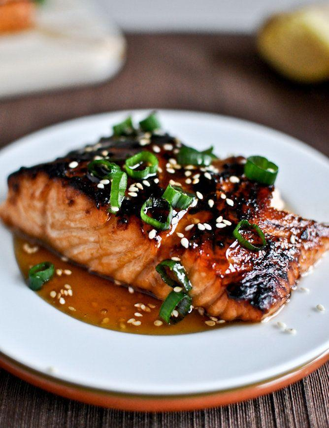 """<strong>Get the <a href=""""http://www.howsweeteats.com/2012/03/toasted-sesame-ginger-salmon/"""" target=""""_blank"""">Toasted Sesame Ginger Salmon recipe</a> from How Sweet It Is</strong>"""