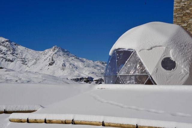 Igloo pods at Val Thorens