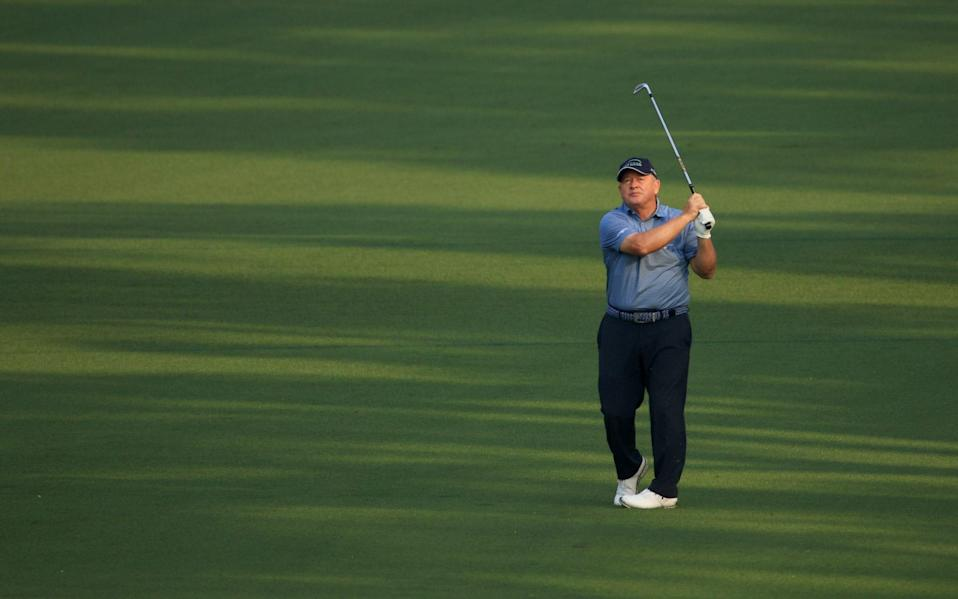 Woosnam is looking good to make the weekend (currently)... - GETTY IMAGES