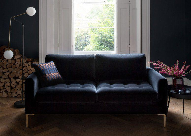 """<p>Somewhat surprisingly, black sofas were more sought-after than classic beige or cream. Bold and moody in expression, if a little tricky to pull off, black sofas work best when you fully embrace the theme - paired with dark wood floors, antiqued brass, and soft furnishings in romantic shades of grape or burgundy. </p><p>Pictured: <a href=""""https://www.heals.com/eton-2-seater-sofa.html?colour=black"""" rel=""""nofollow noopener"""" target=""""_blank"""" data-ylk=""""slk:Eton Sofa at Heal's"""" class=""""link rapid-noclick-resp"""">Eton Sofa at Heal's</a></p>"""
