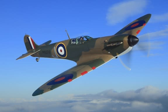 Fully Restored WWII Fighter Plane Up for Auction