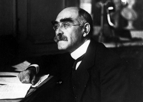 PHOTO: Author Rudyard Kipling is pictured, circa 1910. (Hulton Archive/Getty Images)