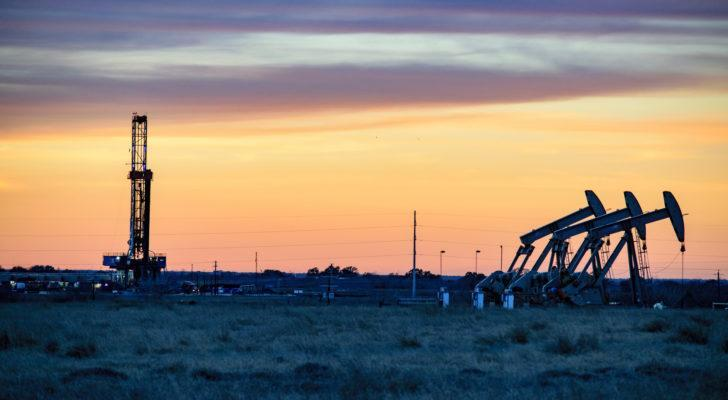 Image of an oil filed at the Permian Basin.
