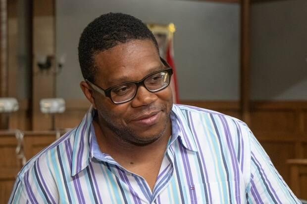 Floyd Kane is behind a new scholarship at Saint Mary's to encourage students of African Nova Scotian descent to pursue writing. (Robert Short/CBC - image credit)