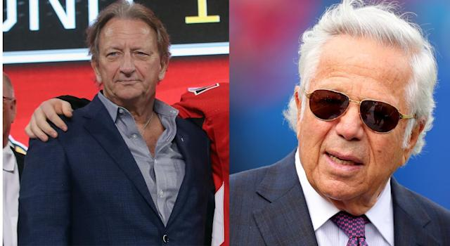 For a brief moment, many had believed Robert Kraft was buying the Ottawa Senators from Eugene Melnyk. (Getty Images)