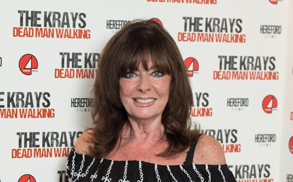 LONDON, ENGLAND - SEPTEMBER 09:  Vicki Michelle attends 'The Krays: Dead Man Walking' UK premiere at The Genesis Cinema on September 9, 2018 in London, England.  (Photo by Jeff Spicer/Getty Images)