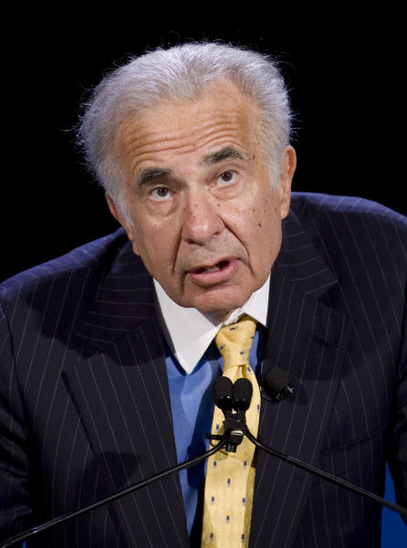 <p> FILE - In this Oct. 11, 2007 file photo, activist investor Carl Icahn speaks at the World Business Forum in New York. President Donald Trump is losing another informal adviser: billionaire investor Carl Icahn, who gave the White House guidance on its deregulation efforts, Friday, Aug. 18, 2017. (AP Photo/Mark Lennihan, File) </p>
