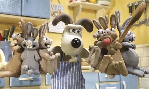 <p>Wallace & Gromit: The Curse of the Were-Rabbit (2005): Starring the voices of Ralph Fiennes and Helena Bonham Carter, this flick follows Wallace and Gromit as they attempt to run a vegetable security and humane pest control business, to keep pesky rabbits from eating carrots. Unfortunately things don't exactly go to plan.</p>