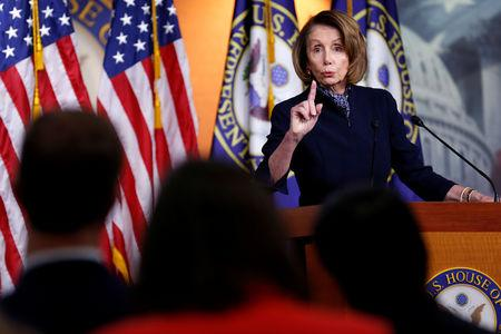 House Democrats to seek Trump's tax returns, Pelosi says
