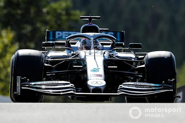 "Lewis Hamilton, Mercedes AMG F1 W10 <span class=""copyright"">Steven Tee / LAT Images</span>"