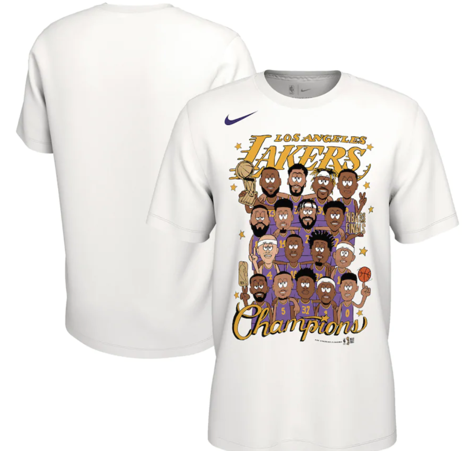 Championship gear: Get your Los Angeles Lakers NBA Finals merchandise here