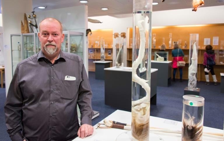 Curator Hjortur Sigurdsson says museum visitors can have fun and be educated at the same time