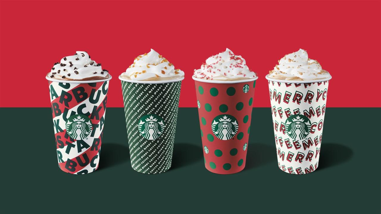"""With the holiday season upon us and chilly weather in full force, the craving for a <a href=""""https://people.com/food/starbucks-new-holiday-juniper-latte-pine-flavor/"""">warm, creamy beverage from Starbucks</a> is bound to kick in at some point. But if you're concerned about your waistline, use this handy guide to see what your smartest choices are. The <a href=""""https://people.com/food/starbucks-just-added-a-frozen-irish-cream-coffee-drink-to-their-holiday-menu/"""">new Irish Cream Cold Brew</a> ranks the lowest with just 200 calories, and the Peppermint White Chocolate Mocha Latte is on the opposite end of the spectrum with 510 calories and 72g of sugar (that's 18 teaspoons or just over ⅓ cup!).  Each calorie, sugar and fat count is for a 16 oz. grande size made with 2 percent milk and whipped cream (if applicable). The standard recipe for some drinks can call for up to eight pumps of flavored syrup — so to reduce the sugar, ask your barista to use only 1-2 pumps when you order. Oh, and skip the whipped cream."""