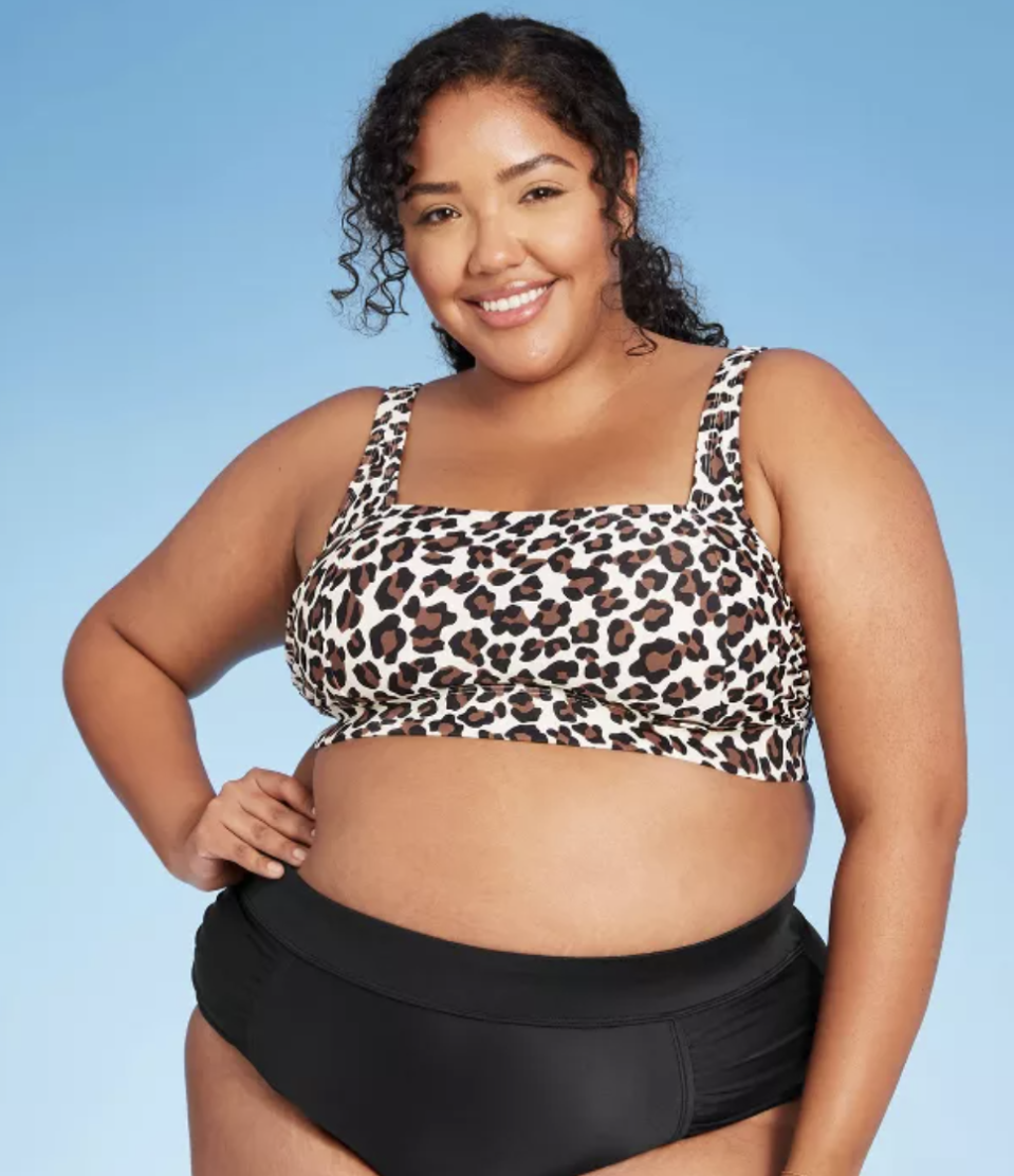 """<p>Target's own inclusive swim line has a host of affordable ($40 and below!), well-fitting swimsuits. There's something for everyone, whether you prefer classic one-pieces, bikinis, or tankinis. As if that's not enough to love, none of the models wearing these suits have been retouched.</p><p><a class=""""link rapid-noclick-resp"""" href=""""https://www.target.com/b/kona-sol/-/N-xnj7h#?lnk=snav_rd_kona_sol"""" rel=""""nofollow noopener"""" target=""""_blank"""" data-ylk=""""slk:SHOP NOW"""">SHOP NOW</a></p>"""