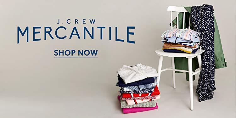 Already reasonable merchandise is an additional 40% off at the J.Crew Mercantile one-day sale. (Photo: Amazon)