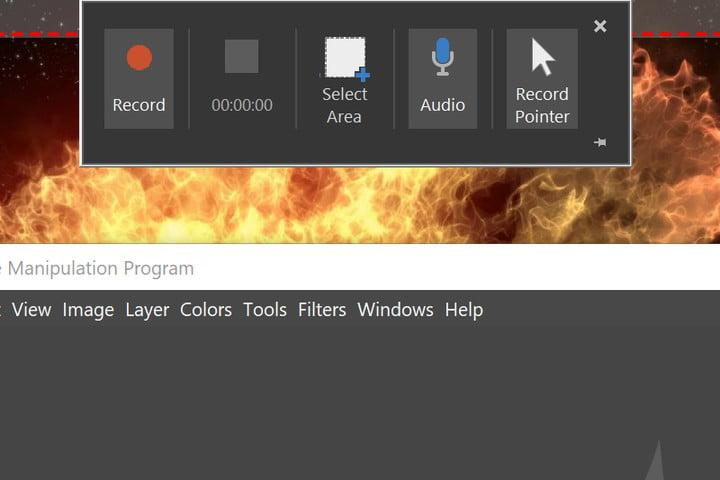 PowerPoint Record Screen