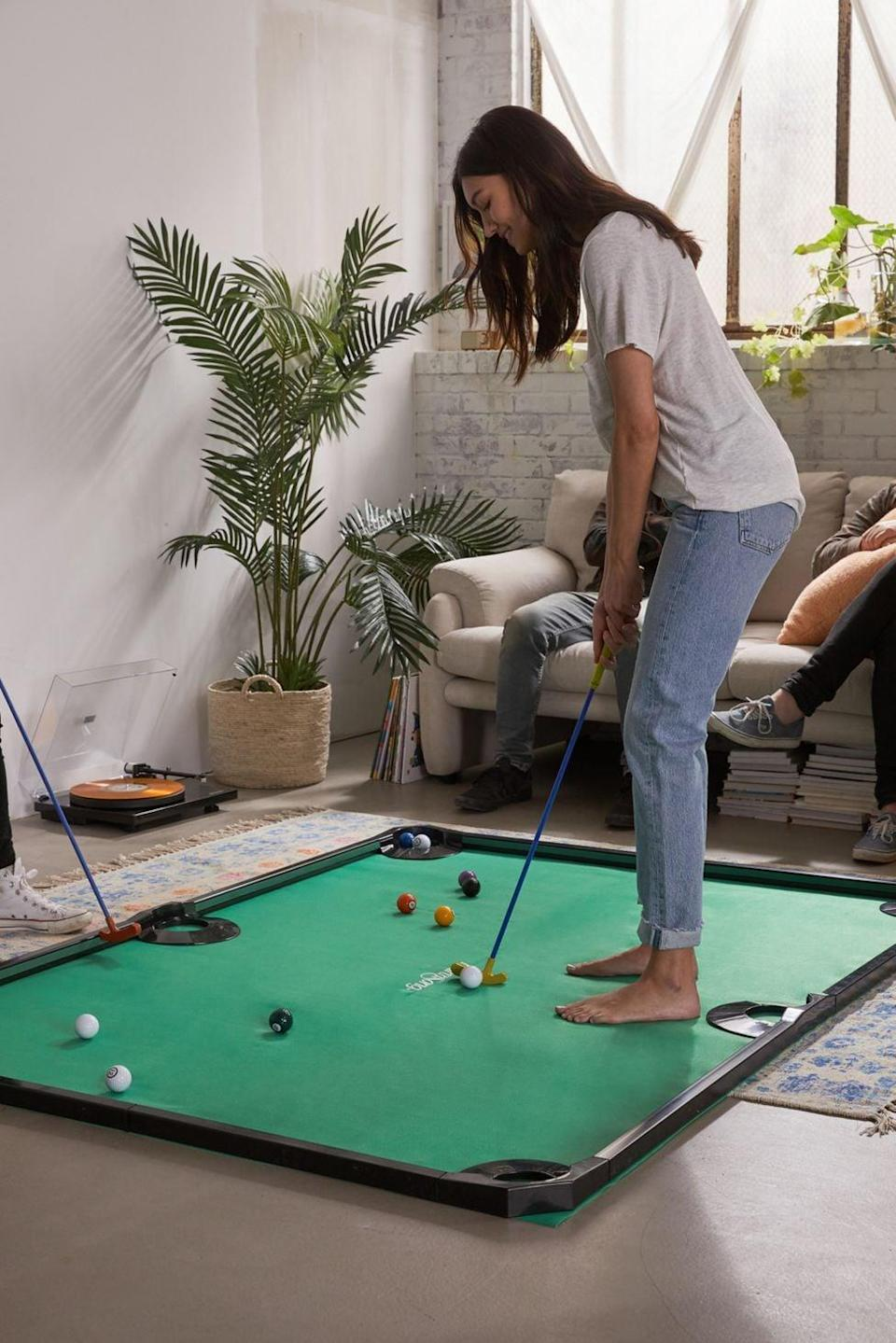 <p>We all know someone who would love this <span>Mini Golf Pool</span> ($104). They'll love playing it with their friends.</p>