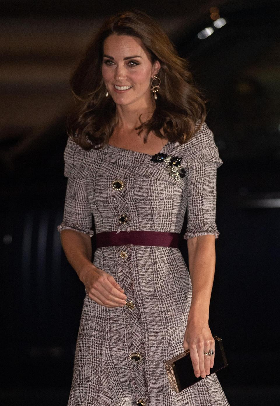 Kate wows in this Erdem. dress worth over $AU 2.6k. Photo: Getty