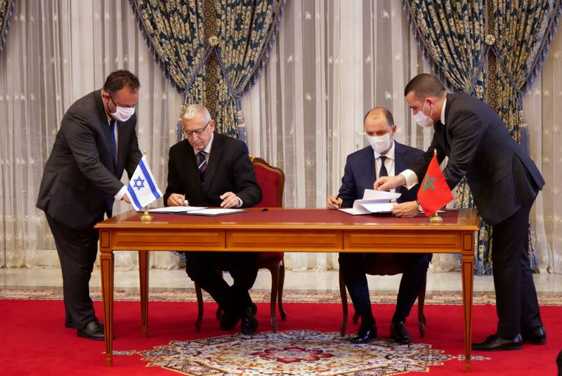 Morocco hosts Israeli envoys in Rabat