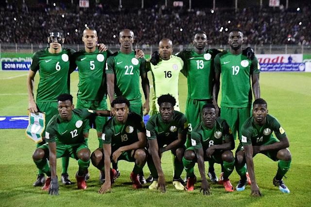 Nigeria qualified for a sixth World Cup after topping a group featuring Zambia, Cameroon and Algeria (AFP Photo/RYAD KRAMDI)