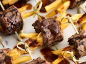 "<p>Roll that leftover flank steak in fries because what could be better?</p><p>Get the recipe from <a href=""https://www.delish.com/cooking/recipe-ideas/recipes/a48574/steak-frites-bites-recipe/"" rel=""nofollow noopener"" target=""_blank"" data-ylk=""slk:Delish"" class=""link rapid-noclick-resp"">Delish</a>.</p>"