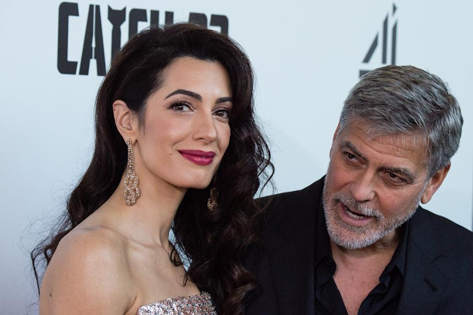 George lives with wife Amal in an Oxfordshire mansion (Photo by Jeff Spicer/WireImage)