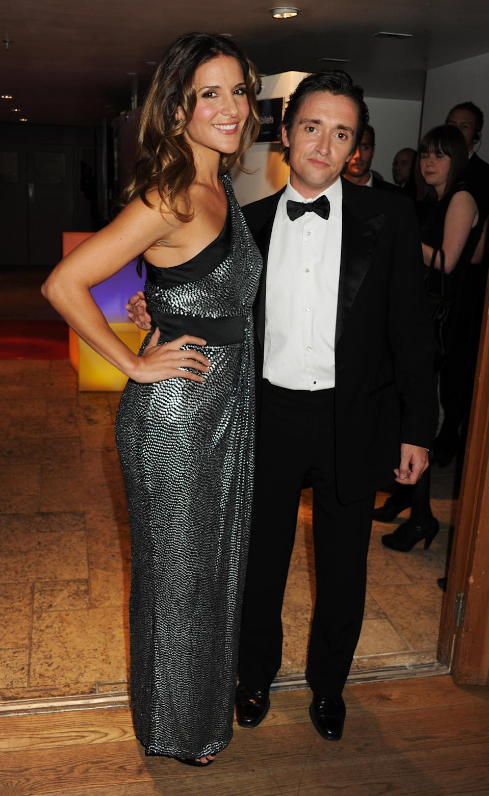 Amanda Byram and Richard Hammond attend The Carphone Warehouse Appys Awards 2011 at Vinopolis on April 11, 2011 in London, England. (Photo by Dave M. Benett/Getty Images)