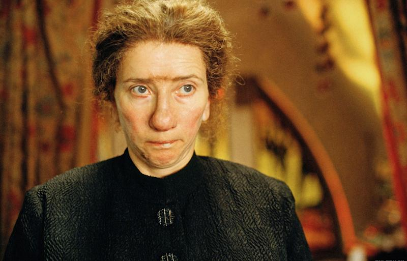"As decreed in the Hollywood Bible, every A-list actress must don at least one sturdy rug before she can retire. Enter ""Nanny McPhee,"" in which flyaways, a unibrow and a snaggletooth forge a brave sartorial cocktail. (But never retire, Emma Thompson.)"