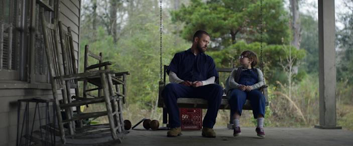 Timberlake and Ryder Allen in 'Palmer' (Photo: Apple TV+)