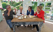 "<p>There's no set time for how long the judges take to deliberate. ""In the past we have sometimes known who's leaving the moment we've finished judging–or it will take half an hour,"" judge Mary Berry told <a href=""https://www.bbcgoodfood.com/content/backstage-bake-0"" rel=""nofollow noopener"" target=""_blank"" data-ylk=""slk:BBC Good Food"" class=""link rapid-noclick-resp"">BBC Good Food</a>. ""Do you remember when it took five hours to make a decision in series one? Interminable. It was like waiting for a new Pope—extraordinary!"" former judge Mel Giedroyc told <a href=""https://www.bbcgoodfood.com/content/backstage-bake-0"" rel=""nofollow noopener"" target=""_blank"" data-ylk=""slk:BBC Good Food"" class=""link rapid-noclick-resp"">BBC Good Food</a>.</p>"