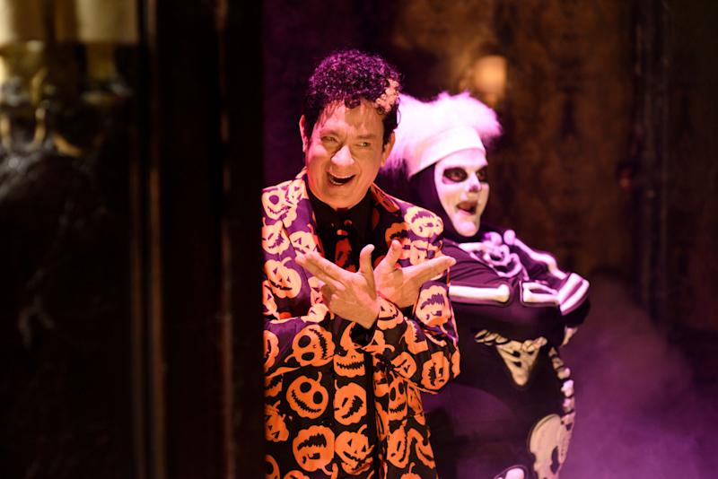 Tom Hanks as David Pumpkins.