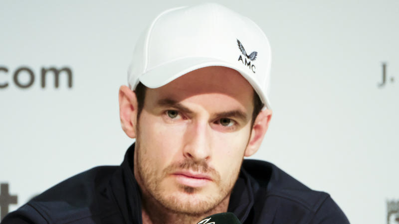 'Broken hip' now in the past for Murray