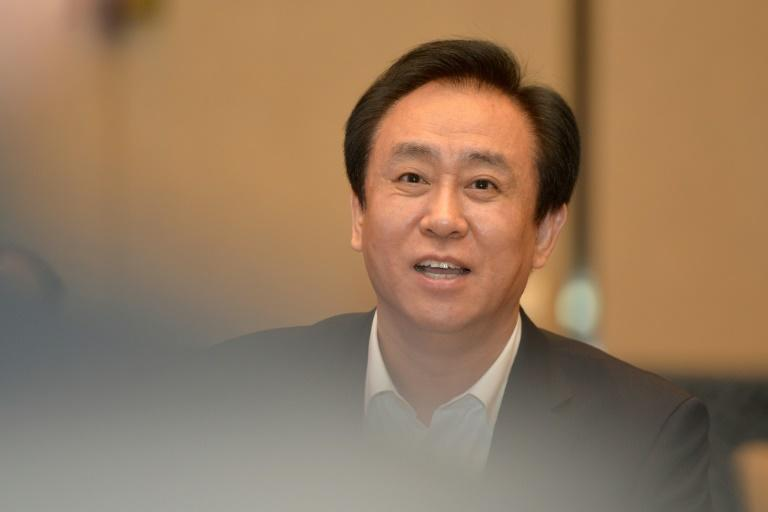 Evergrande was founded by Xu Jiayin in 1996 (AFP/STR)