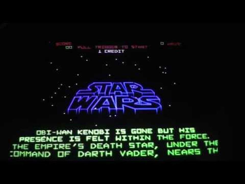 <p>This was the first<em> Star Wars</em> arcade game, and the player would play as Luke Skywalker while flying an X-Wing fighter. There were three phases to the game, with the ultimate goal being to annihilate Death Star. You didn't even have to destroy every enemy thrown your way, you just had to survive each round to make it to the final phase. Use the vector graphics, Luke.</p>