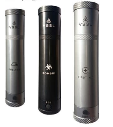 VSSL flashlights contain everything you could think to pack