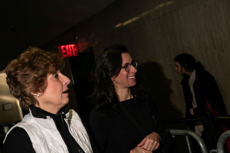 New York Times reporter Jodi Kantor is seen at New York Criminal Court during the ongoing sexual assault trial against Harvey Weinstein in the Manhattan borough of New York City